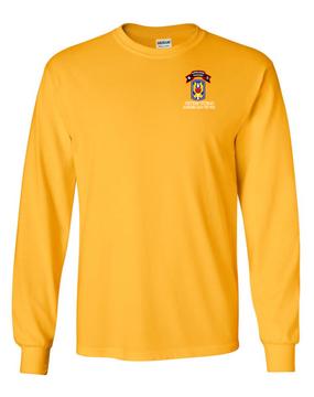 199th LIB M Company 75th Infantry Long-Sleeve Cotton T-Shirt