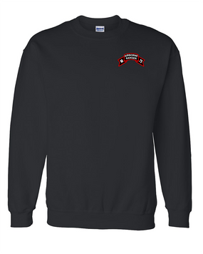 M Company 75th Infantry Embroidered Sweatshirt