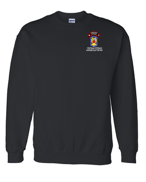 199th LIB M Company 75th Infantry Embroidered Sweatshirt