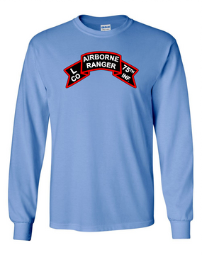 L Company 75th Infantry Long-Sleeve Cotton T-Shirt-FF