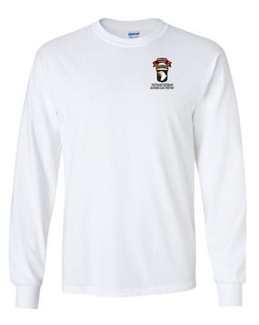 101st Airborne Division  L Company 75th Infantry Long-Sleeve Cotton T-Shirt