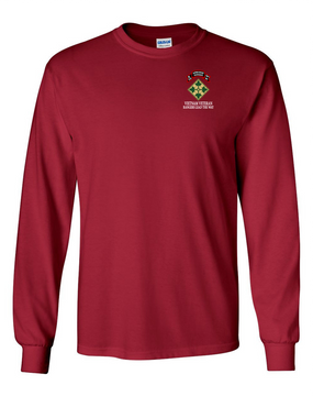 4th Infantry Division K Company 75th Infantry Long-Sleeve Cotton T-Shirt