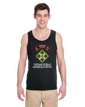 4th Infantry Division  K Company 75th Infantry Tank Top-FF