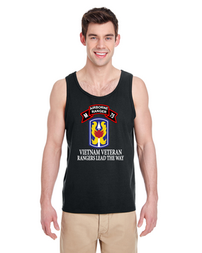 199th LIB M Company 75th Infantry Tank Top-FF