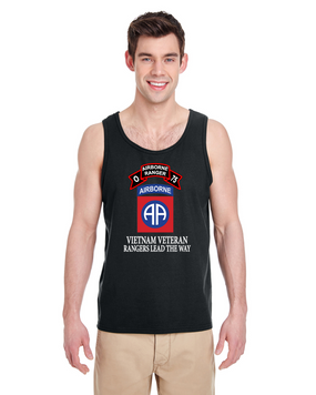 82nd Airborne Division  O Company 75th Infantry Tank Top-FF