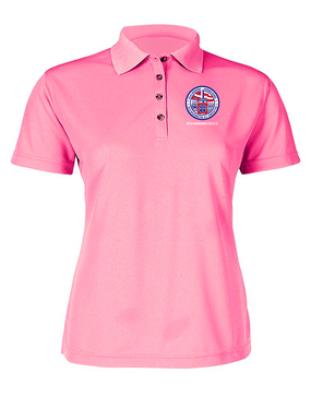 Ladies 82nd Airborne Association 2019 Convention  Embroidered Moisture Wick Polo Shirt