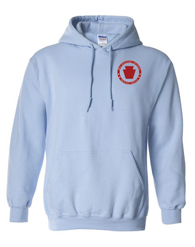 28th Infantry Division Embroidered Hooded Sweatshirt-Proud