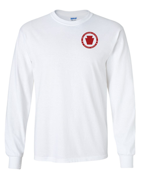 28th Infantry Division  Long-Sleeve Cotton T-Shirt-Proud