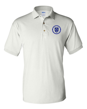 23rd Infantry Division  Embroidered Cotton Polo Shirt-Proud