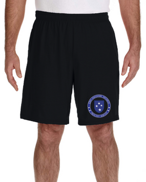23rd Infantry Division Embroidered Gym Shorts- Proud