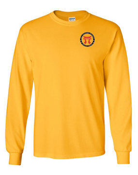187th RCT  Long-Sleeve Cotton T-Shirt-Proud