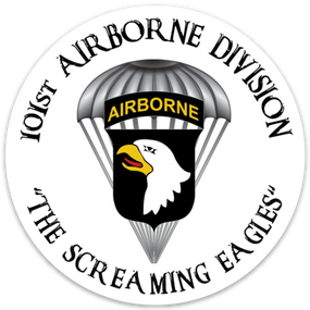 101st Airborne Division Vinyl Cut Decal