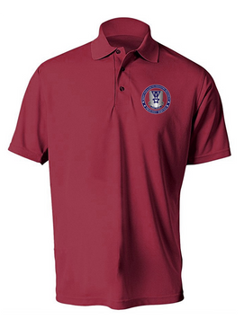 503rd Parachute Infantry Regiment Embroidered Moisture Wick Polo-Proud
