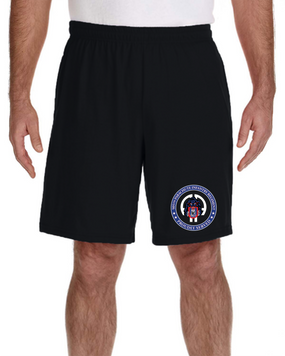 505th PIR Embroidered Gym Shorts-Proud