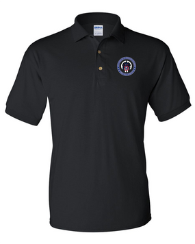 505th PIR  Embroidered Cotton Polo Shirt - Proud