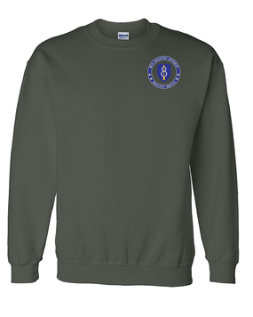 8th Infantry Division Embroidered Sweatshirt-Proud