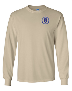 8th Infantry Division Long-Sleeve Cotton Shirt  -Proud