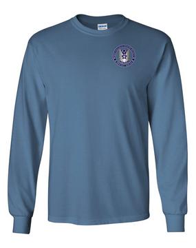 503rd Parachute Infantry Regiment Long-Sleeve Cotton T-Shirt -Proud