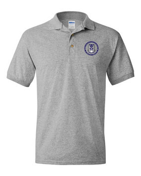 503rd Parachute Infantry Regiment Embroidered Cotton Polo Shirt -Proud