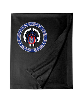 505th Parachute Infantry Regiment Embroidered Dryblend Stadium Blanket-Proud
