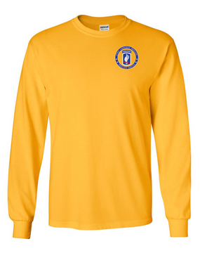 173rd Airborne Brigade Long-Sleeve Cotton T-Shirt-Proudly