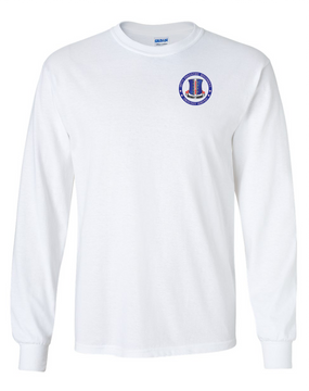 187th RCT  Long-Sleeve Cotton T-Shirt-Proudly