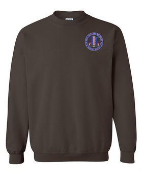 187th RCT  Embroidered Sweatshirt-Proudly