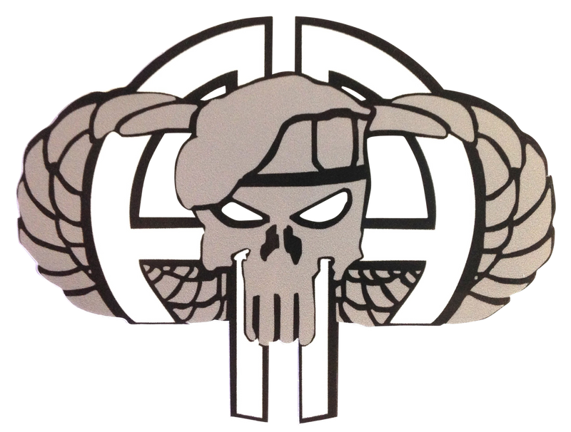 82nd Punisher Decal