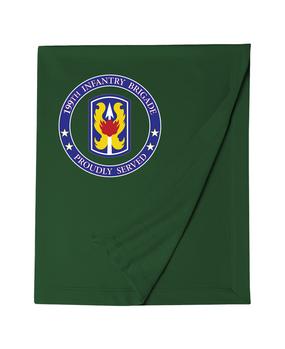 199th Light Infantry Brigade Embroidered Dryblend Stadium Blanket-Proud