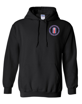 197th Infantry Brigade Embroidered Hooded Sweatshirt-Proud