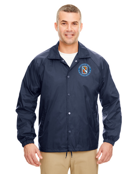 198th Infantry Brigade Embroidered Windbreaker -Proud