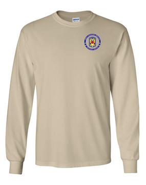 199th Light Infantry Brigade Long-Sleeve Cotton T-Shirt-Proud
