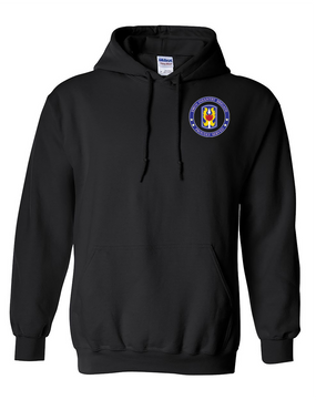 199th Light Infantry Brigade  Embroidered Hooded Sweatshirt-Proud