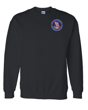 327th Infantry Regiment Embroidered Sweatshirt-Proud