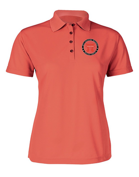 """Ladies 187th RCT """"Torri""""  Embroidered Moisture Wick Polo Shirt -Proud"""