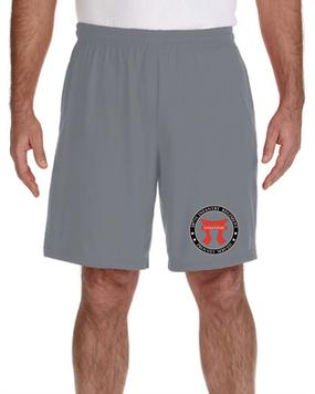 "187th Regimental Combat Team ""Torri""  Embroidered Gym Shorts-Proud"
