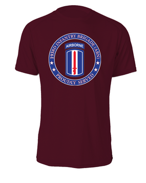 193rd Infantry Brigade (Airborne) Cotton Shirt-Proud  (FF)