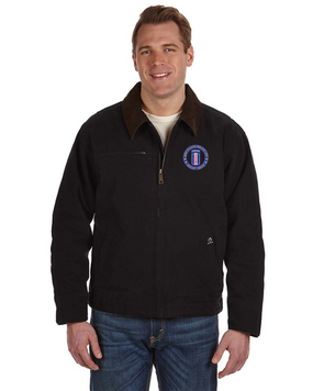 193rd Infantry Brigade (Airborne)  Embroidered DRI-DUCK Outlaw Jacket -Proud