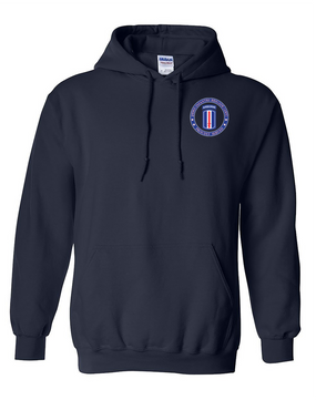 193rd Infantry Brigade (Airborne) Embroidered Hooded Sweatshirt-Proud