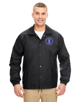 193rd Infantry Brigade (Airborne) Embroidered Windbreaker-Proud
