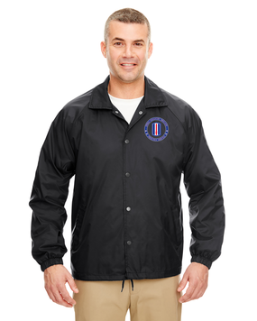 193rd Infantry Brigade Embroidered Windbreaker -Proud