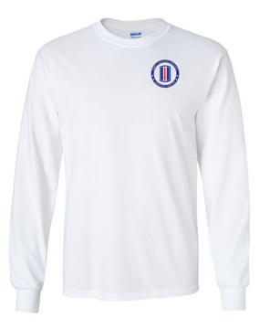 193rd Infantry Brigade Long-Sleeve Cotton Shirt -Proud