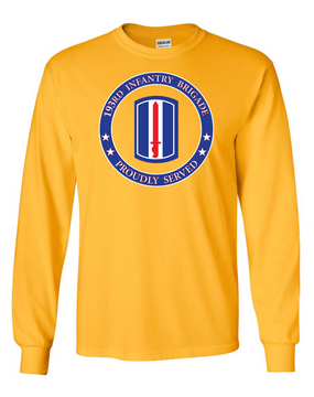 193rd Infantry Brigade Long-Sleeve Cotton Shirt -Proud (FF)