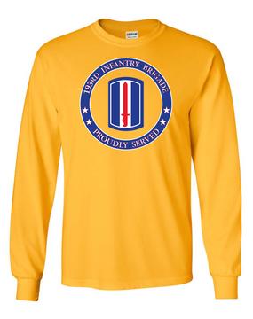 193rd Infantry Brigade Long-Sleeve Cotton Shirt -Proud (FF)