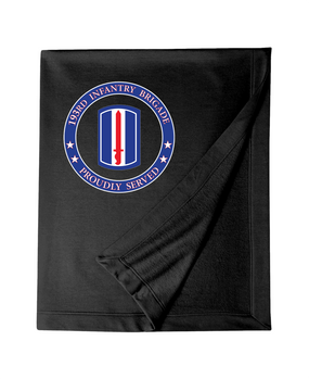 193rd Infantry Brigade Embroidered Dryblend Stadium Blanket -Proud