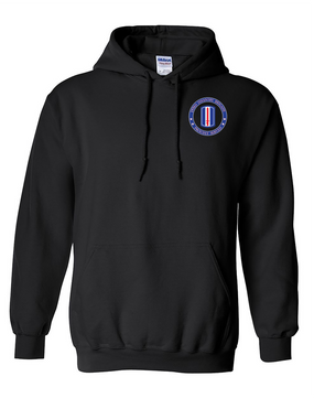 193rd  Infantry Brigade Embroidered Hooded Sweatshirt-Proud