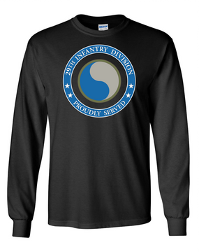 29th Infantry Division Long-Sleeve Cotton T-Shirt-Proud  (FF)