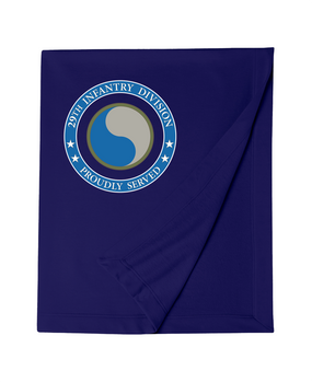29th Infantry Division Embroidered Dryblend Stadium Blanket-Proud