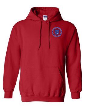 23rd Infantry Division Embroidered Hooded Sweatshirt-Proud