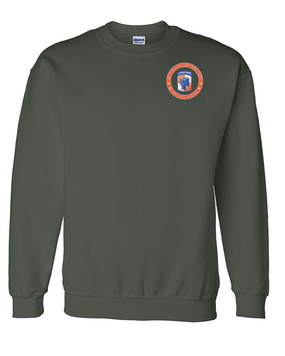 35th Signal Brigade (Airborne)  Embroidered Sweatshirt-Proud